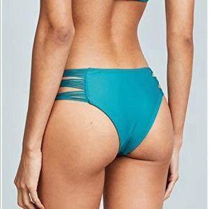 MIKOH Bikini Bottom - Teal